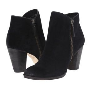 NEW-COLE HAAN Hayes Double Zip Ankle Boot